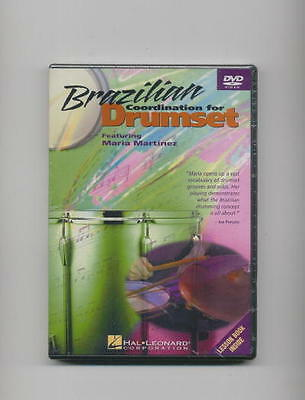Brazilian Coordination For Drumset Drum *new* Dvd Drums