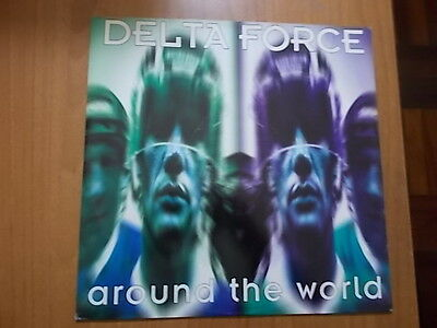 "12"" Delta Force - Around The World 1996"