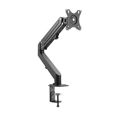 Single Arm Tv Lcd Monitor Desk Mount Bracket Articulating Up Down In Out Swivel