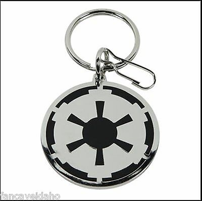 Star Wars Empire Logo Enamel & Metal Key Chain Keychain Zipper Pull