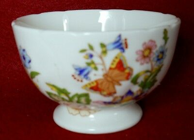 AYNSLEY china COTTAGE GARDEN pattern Mini Open Footed Sugar Bowl - 2""