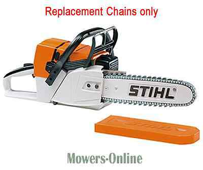Genuine Stihl Toy Chainsaw Replacement Chain Set - 4 Rubber Chains & Tool