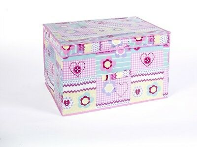 Piccolo Patchwork Foldable Pop Up Room Tidy Storage Chest