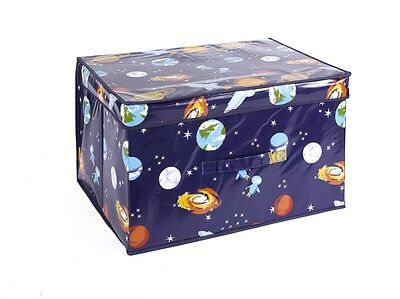 Piccolo Space Man Foldable Pop Up Room Tidy Storage Chest NEW