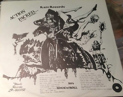 Action Packed Wendi records Volume 2. Rare Rockabilly LP.