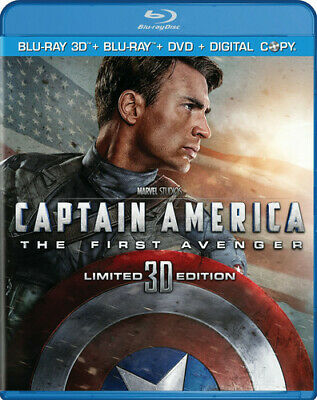 Captain America: The First Avenger (Thre Blu-ray