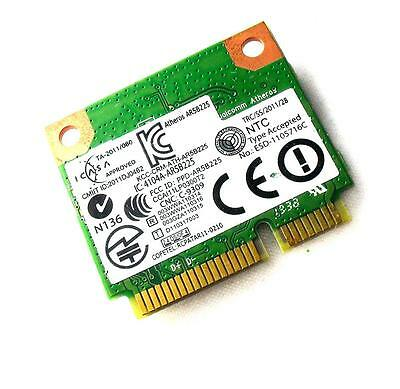 Atheros AR5B225 AW-NB097H WIFI Wireless Bluetooth BT 4.0 half size MINI PCI-E