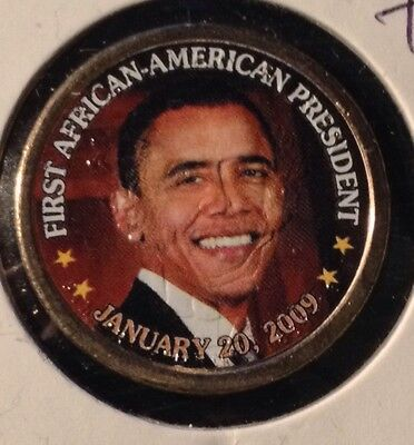 "Barack Obama Colorized President $1  ""first African American President"" Closeout"