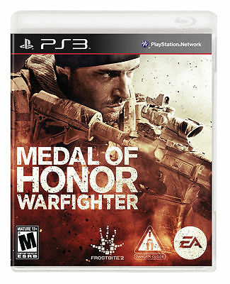 PlayStation 3 : Medal of Honor: Warfighter - PS3 VideoGames