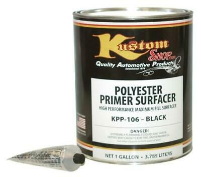 Gal. Black POLYESTER PRIMER FILLER SURFACER-Auto-Paint