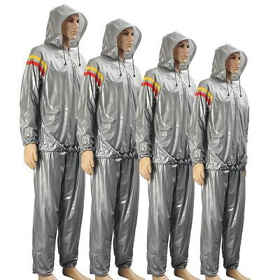 Heavy Duty Weight Loss Slim Sport Sweat Exercise Gym Fitness Sauna Suit Hoodie