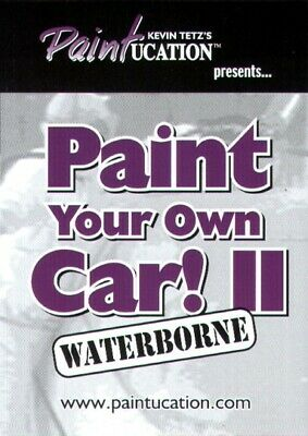 How To PAINT YOUR OWN CAR Paintucation DVD Automotive Auto Spray Gun Bodywork