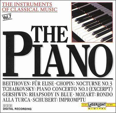 Various Artists : The Instruments Of Classical Music: The Piano CD