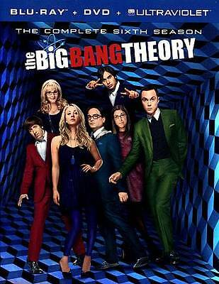 The Big Bang Theory: The Complete Sixth Blu-ray