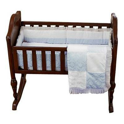 Baby Doll Bedding King Cradle Set, Blue New