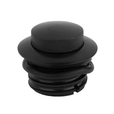 Black Motorcycle Fuel Gas Tank Oil Cap Cover for 1982-UP Harley Sportster