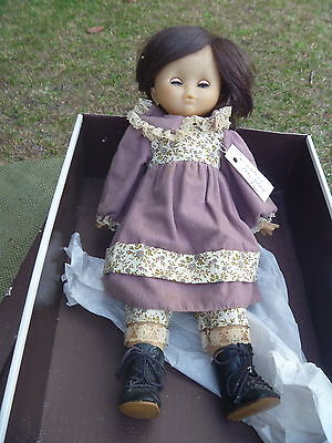 """Vintage R Club CORNALINE 16"""" Doll in Original Outfit Leather Boots Box France"""
