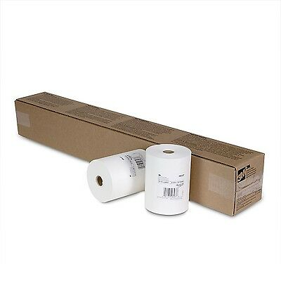 """3M White Masking Paper for Auto Paint Application, 6"""" x 750 ft - 1 Roll 6537"""
