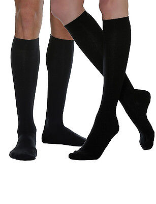 Travel Compression Socks Supporting BUSINESS Socks Knee-Stockings Men's Cotton
