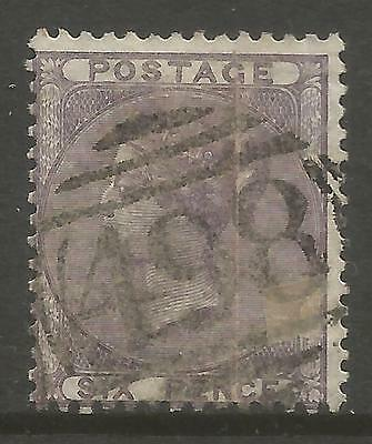 GREAT BRITAIN. 1856. 6d Pale Lilac. Watermark Emblems. SG: 70. Fine Used.