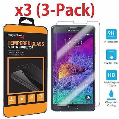 MagicShieldz® Premium Tempered Glass Screen Protector for Samsung Galaxy Note 4
