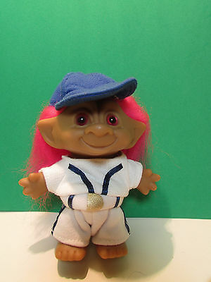 "BASEBALL PLAYER - 5"" Ace Treasure Troll Doll - NEW WITHOUT PACKAGE"