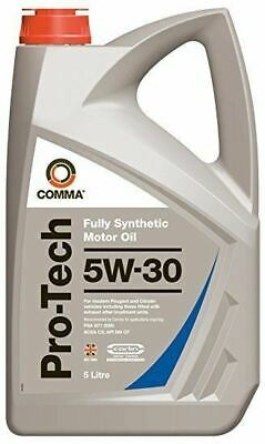 COMMA OILS - Pro-Tech 5W30 Fully synthetic Engine Oil (5 Litres) PTC5L
