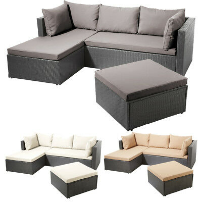 lounge set loungem bel gartenm bel sitzgarnitur garten sitzgruppe gartentisch eur. Black Bedroom Furniture Sets. Home Design Ideas