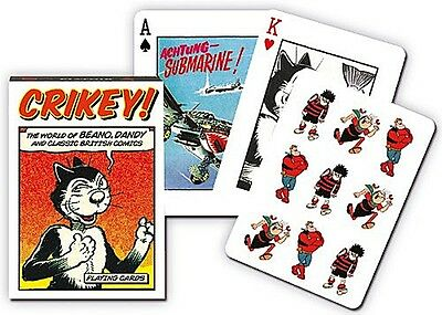 Beano And Dandy Crikey set of 52 playing cards (gib)