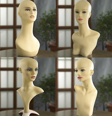 Professional Full Mannequin Head Dummy Dressmaker Display Stand Female Light UK