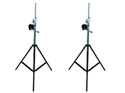 Pro Lighting Wind Up Bundle, 2x Wind Up, 4m, 80kg + Zubehör
