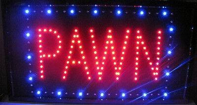 """Ultra Bright Giant 24"""" Pawn Shop Window LED Neon Light Store Sign Display"""