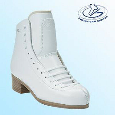 CLEARANCE GAM Spectra FIGURE SKATING BOOTS 0070 White Intermediate Level