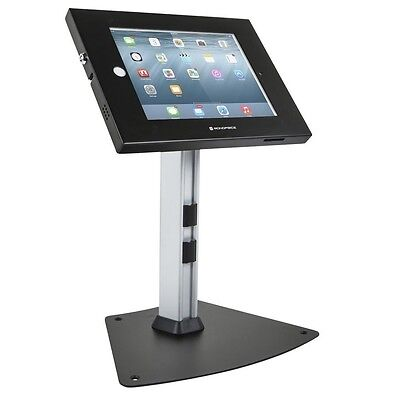 Monoprice Safe & Secure TabletDesktop Display Stand for iPad 2-4/ Air - Black
