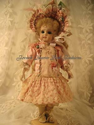 "24/"" FRENCH DOLL DRESS PATTERN VICTORIAN STYLE ~ NELLIE *"