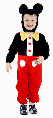 Toddler Mouse Boy  Halloween Fancy Dress Up  Costume Party Age 3 -4 Years Old