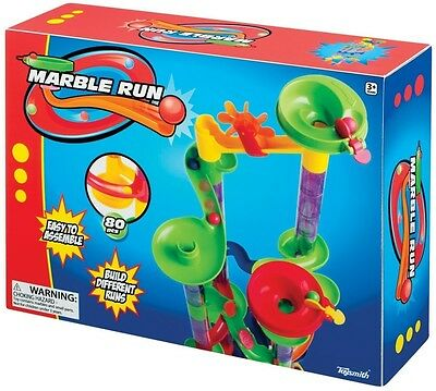 Toysmith Marble Run 80pc Building Countless Variations Educational