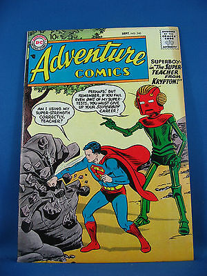 Adventure Comics Superboy  240 Vf 1957