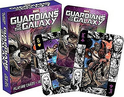 Marvel Guardians Of The Galaxy set of 52 playing cards + jokers (nm 52332)