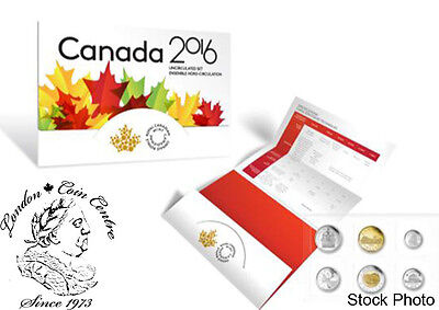 Canada 2016 Proof Like Uncirculated Coin Set Includes 6 Coins