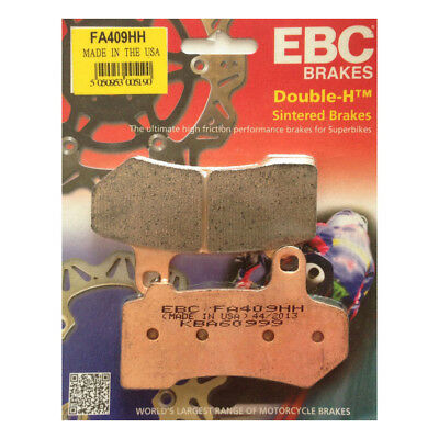 EBC Sintered Double-H Brake Pads Complete Set Front & Rear 08-16 Harley Touring
