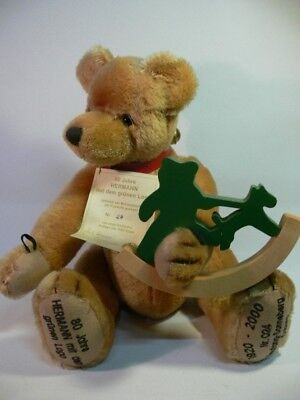 HC 248 Hermann Coburg Teddy 80 Jahre Hermann ca.38 cm Made i.Germany
