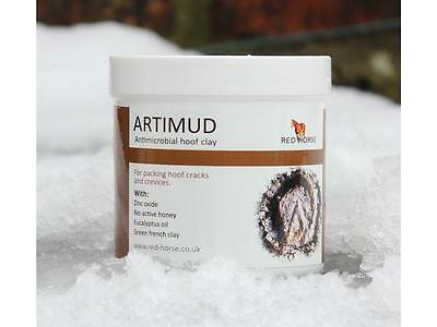 Red Horse Products Artimud Hoof Packing Clay - Hoof Putty - 190ml & 500ml  BN