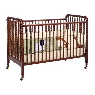 DaVinci Jenny Lind 3-in-1 Convertible Crib in Cherry - M7391C