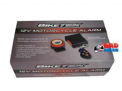 Easy Fit Motorbike, Quad, Scooter, Trike, Motorcycle Remote 125dB Alarm System