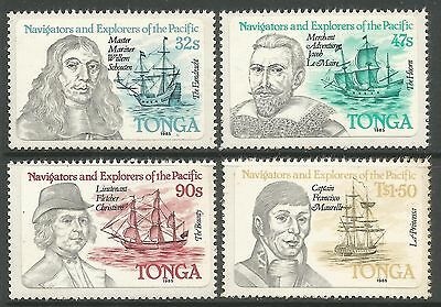 TONGA. 1984. Navigators & Explorateurs (1er Séries) Ensemble SG: 861/64. MNH