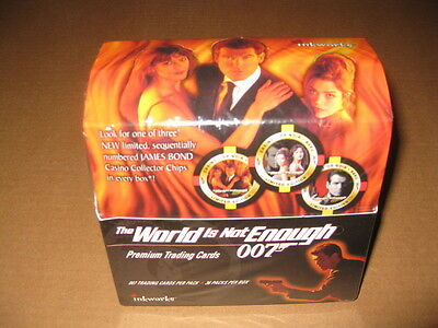 James Bond World is Not Enough Trading Card Box
