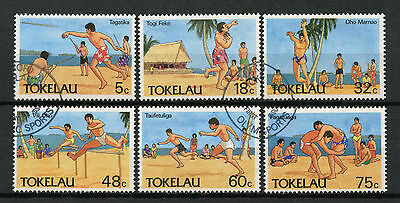 Tokelau 1987 SG#148-153 Olympic Sports Used Set #A78719