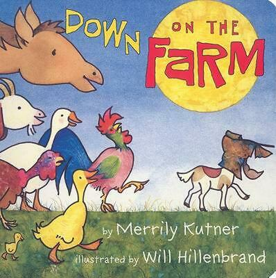 Down on the Farm by Merrily Kutner (English) Board Books Book Free Shipping!