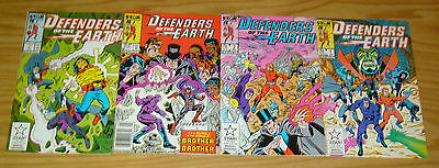 Defenders of the Earth #1-4 VF/NM complete series - the phantom - flash gordon